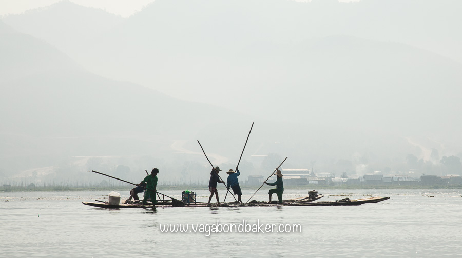 Inle Lake boat trip