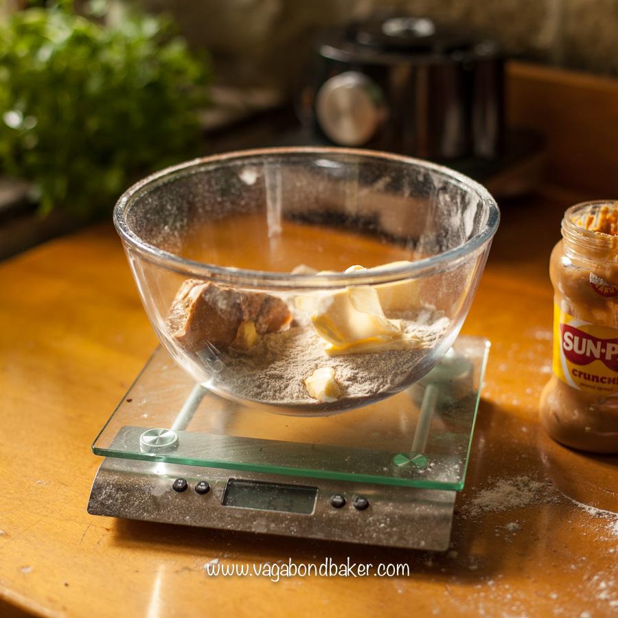 Peanut Butter Salted Caramel Squares