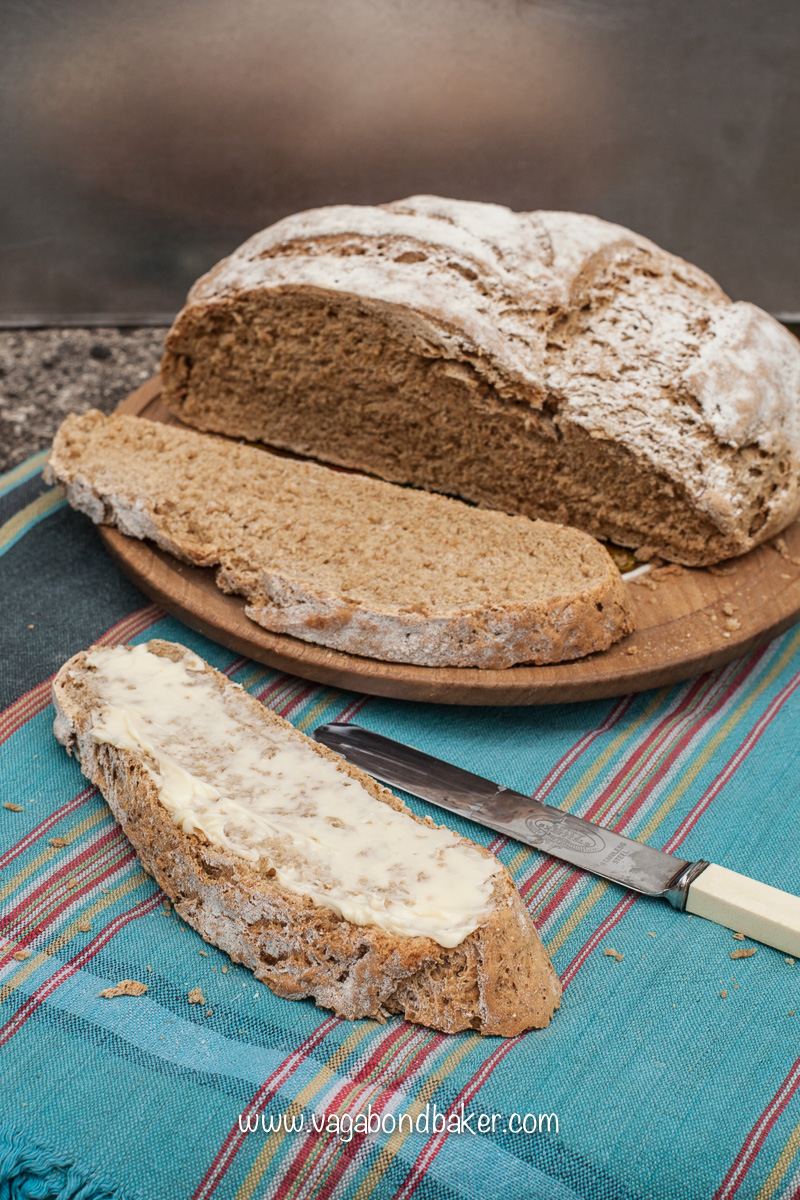 Rye Bread // an easy rustic loaf that isn't to heavy