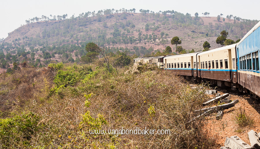 Mail Train to Thazi, Burma