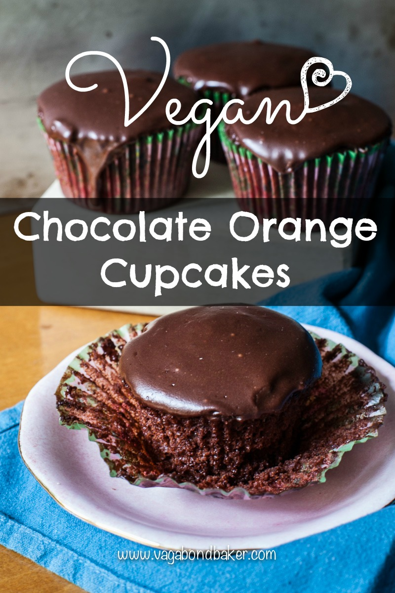 Vegan Chocolate Orange Cupcakes