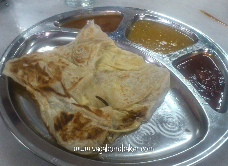 Roti Canai, food of the gods!