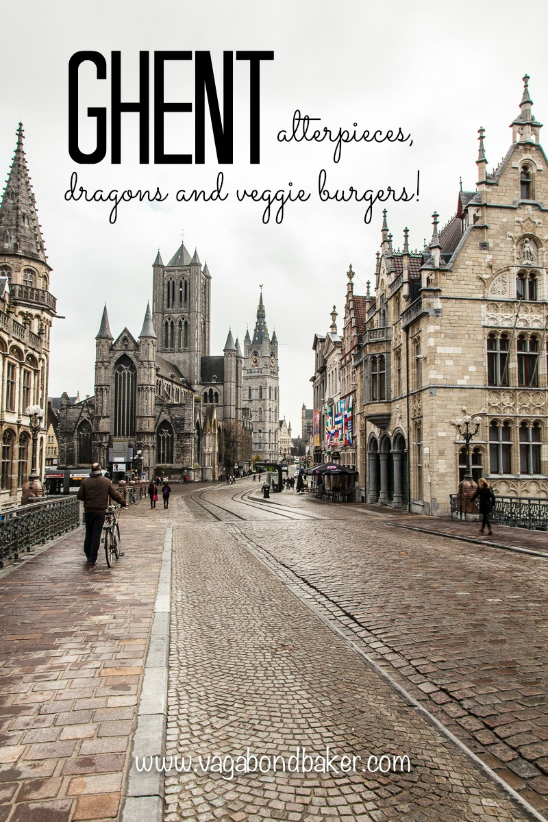 Ghent-Alterpieces, dragons and veggie burgers