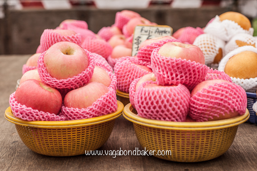 Precious Fuji apples