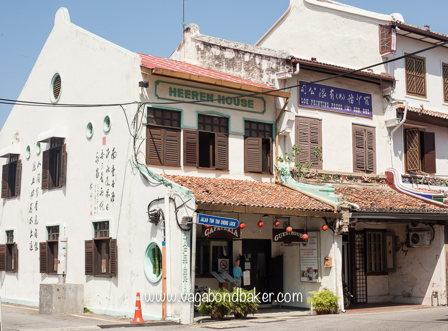Heeren House, the best place in Melaka for a pot of tea and a slice of cake