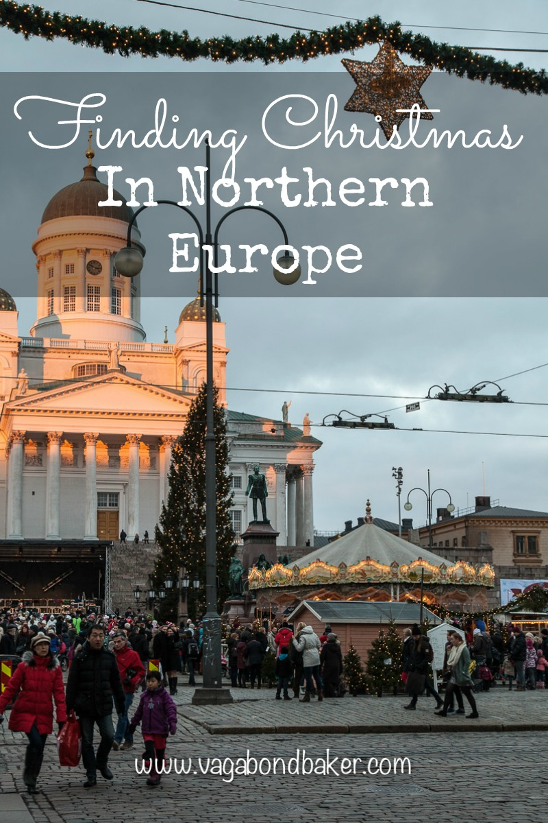 Finding Christmas in Northern Europe Helsinki
