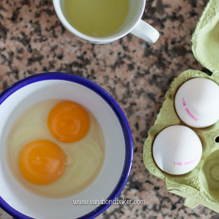 Enrich the dough with egg