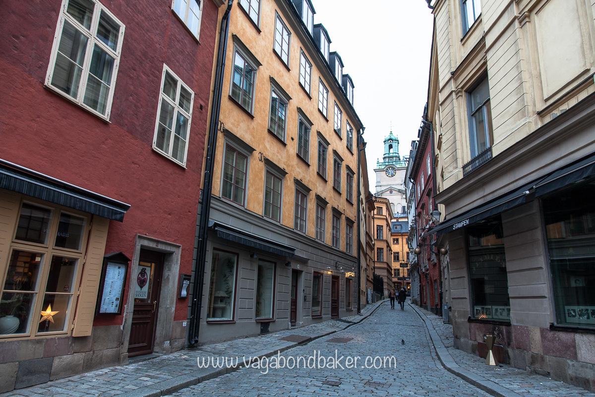 Copenhagen to Finland. Stockholm