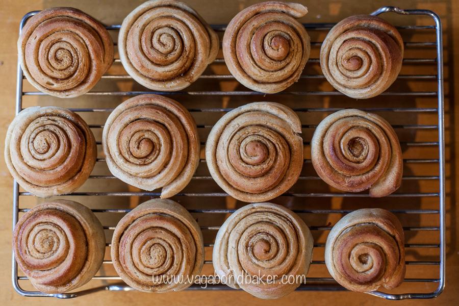 Vegan Swedish Cinnamon Rolls