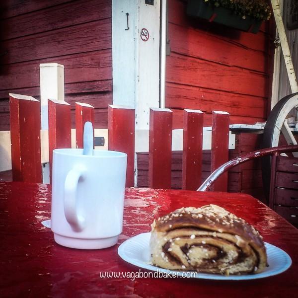 A korvapuusti from Regatta Cafe, Helsinki