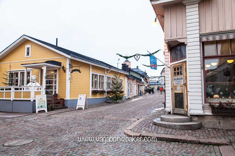 Pretty cobbled streets