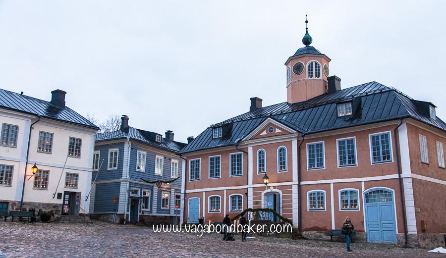 Porvoo town hall: now Porvoo Museum