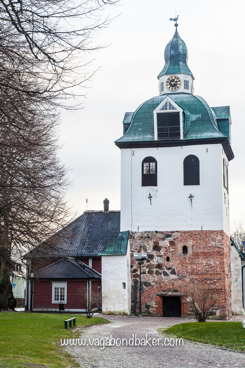 Porvoo Cathedral bellower.