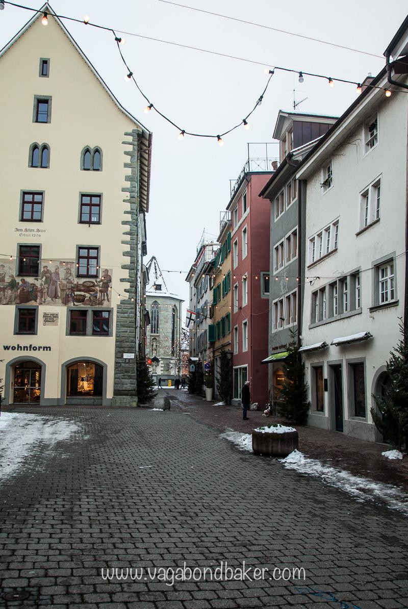 Genuine medieval streets