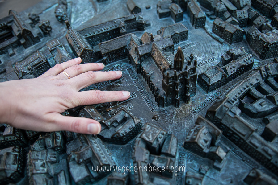 Miniature Konstanz with braille
