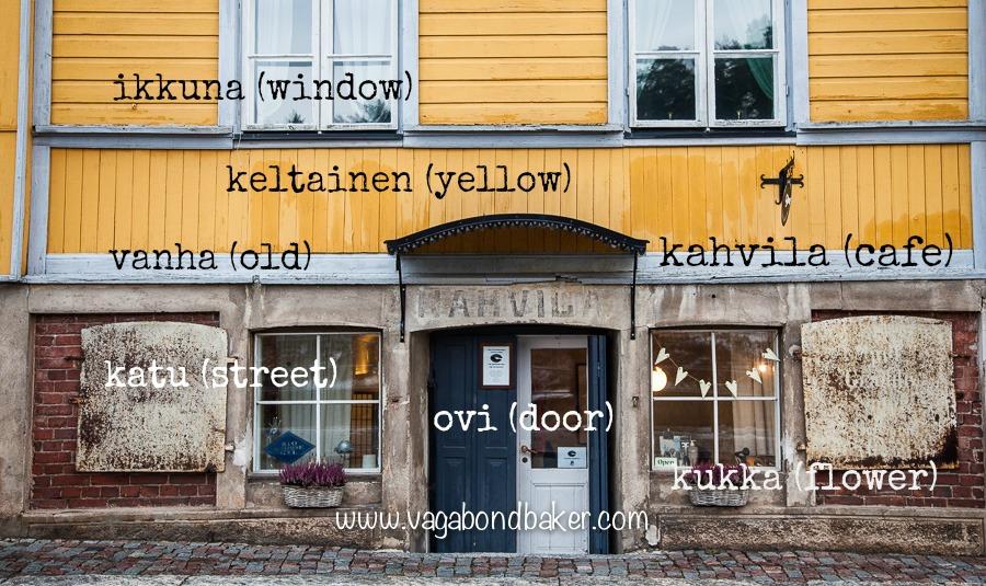 kahvila in Finnish