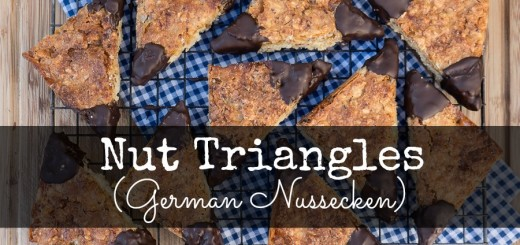 German Nut Triangles