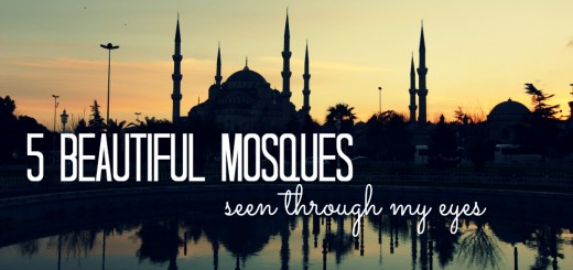 5 Beautiful Mosques