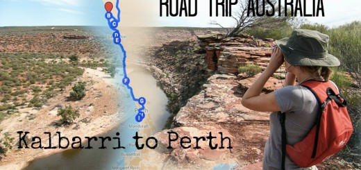 Kalbarri to Perth