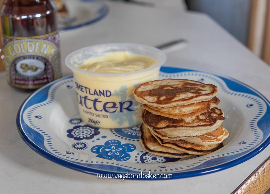 Banana Scotch Pancakes