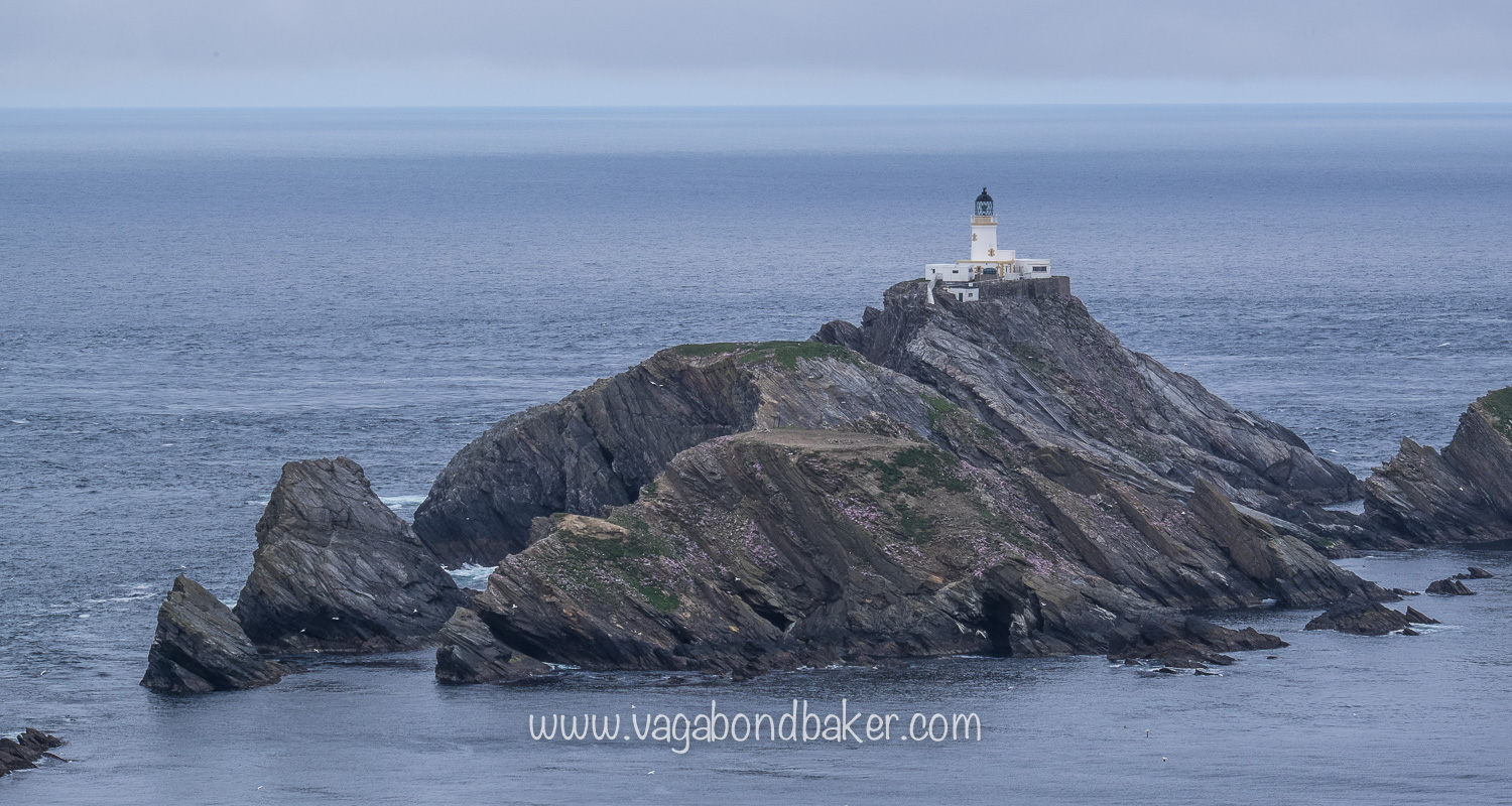 Muckle Flugga, Britain's last most northerly islands. Imagine living here!