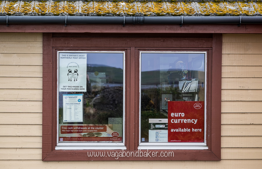 Britain's most northerly Post Office