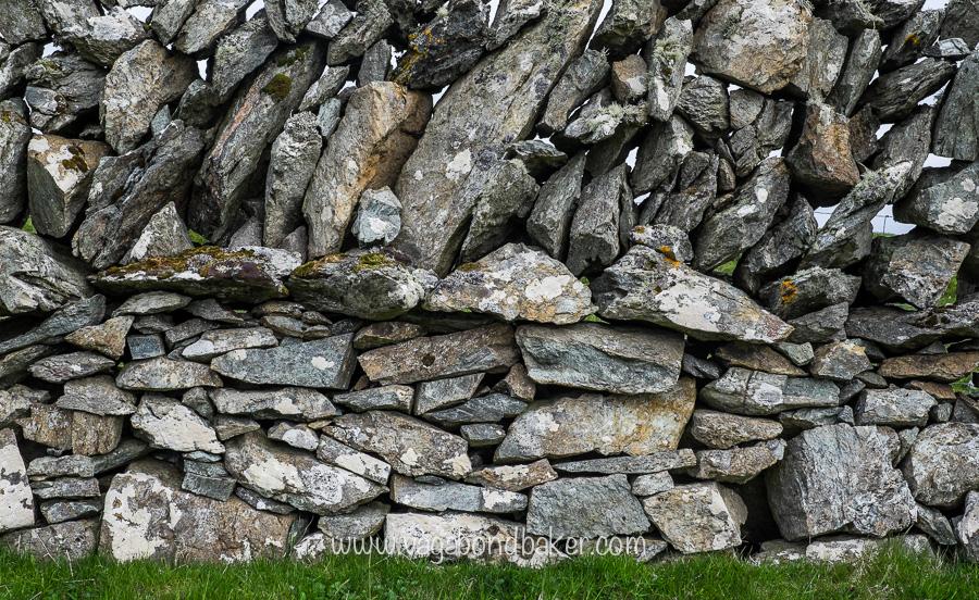 great walls on Fetlar