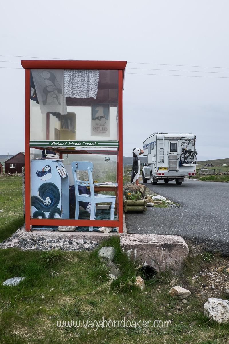 Demountable Camper, Truck Camper, Unst, Unst Bus Shelter