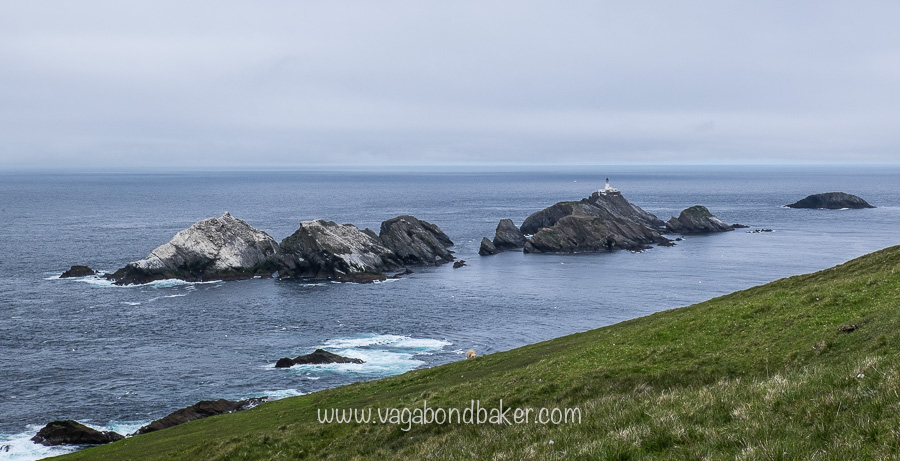 Muckle Flugga Lighthouse, this is as north at the UK gets!