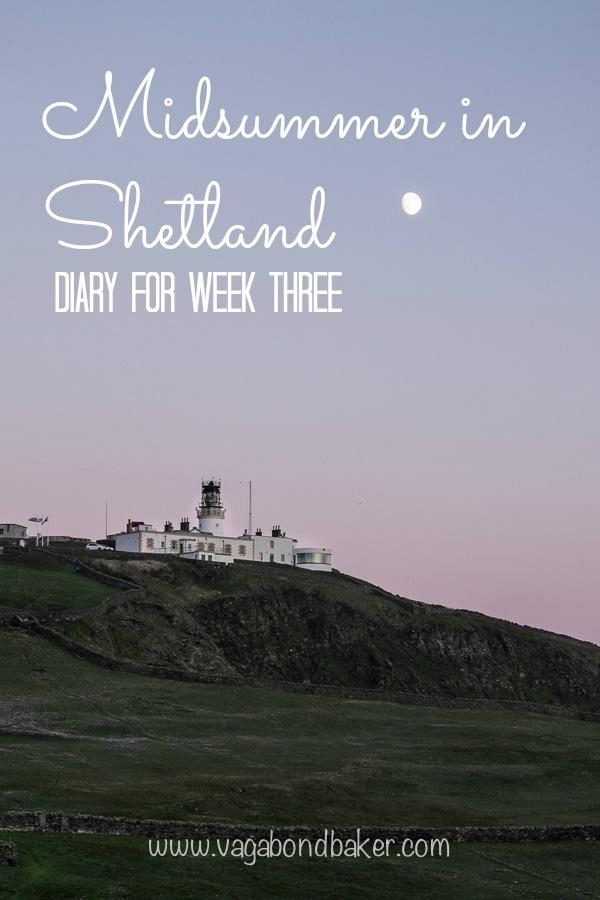 Diary for week 3 Shetland