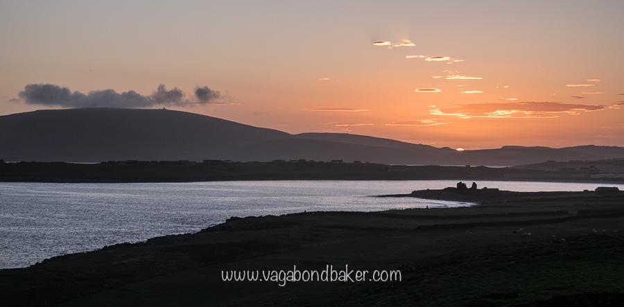Sunset from Sumburgh Head