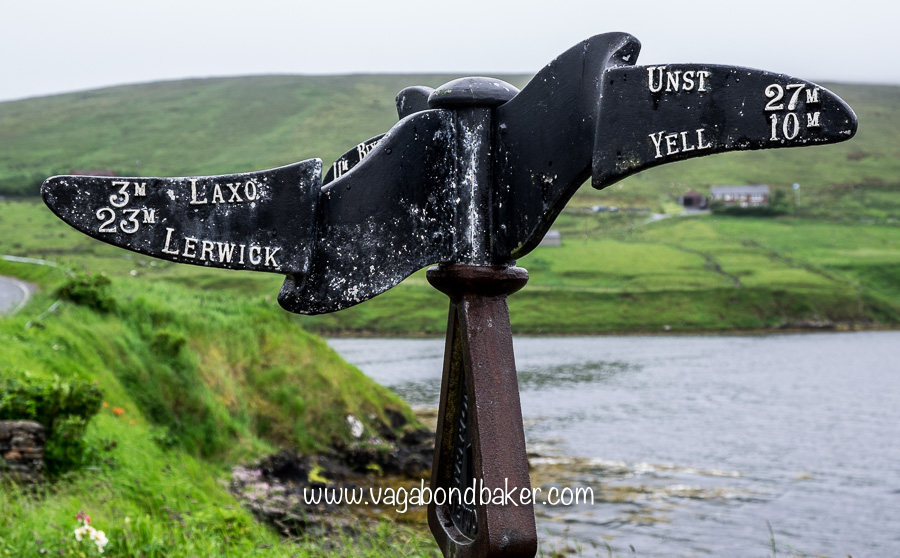 Directions from Voe
