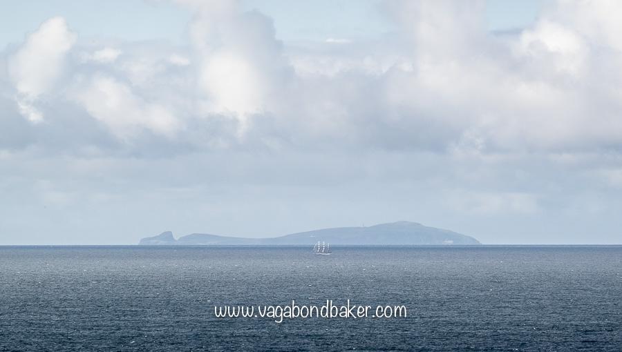 Fair Isle, seen from Sumburgh Head
