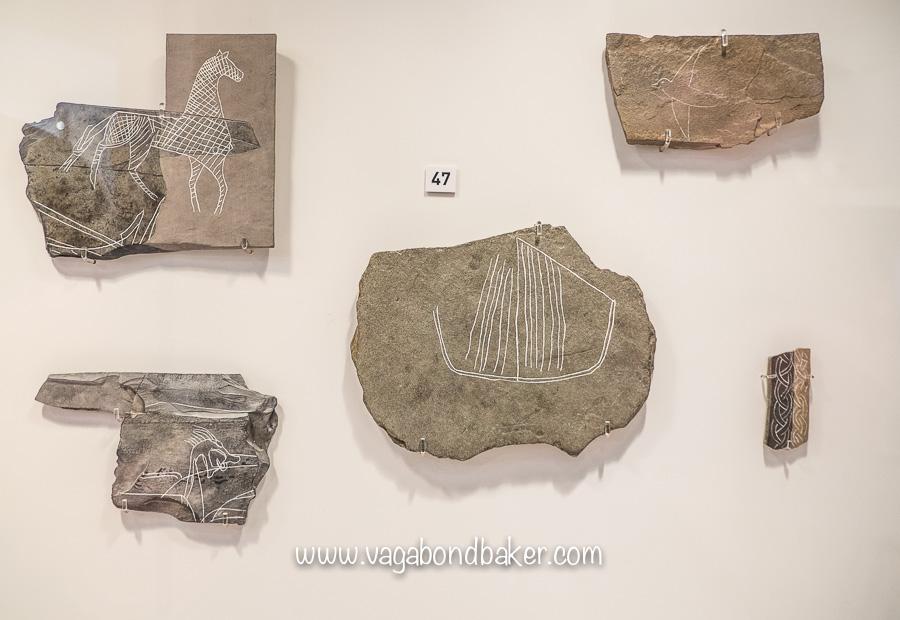 Norse art in Shetland Museum