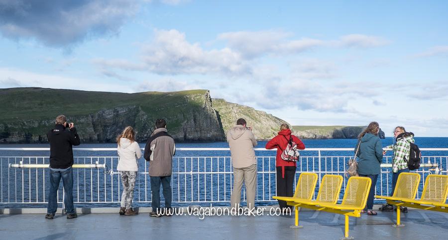 Shetland to Aberdeen Ferry