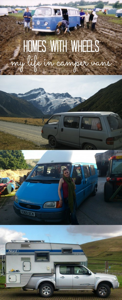 life in camper vans