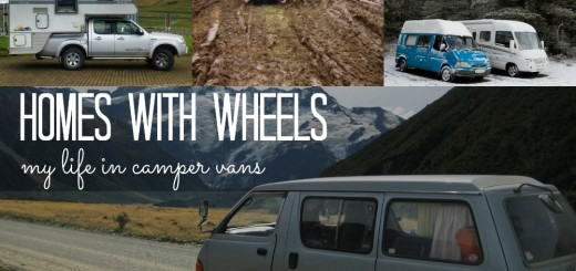 my life in camper vans