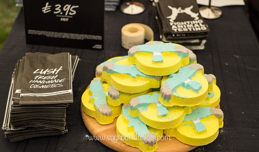 Lush! Helping to save Hen Harriers with bath bombs!