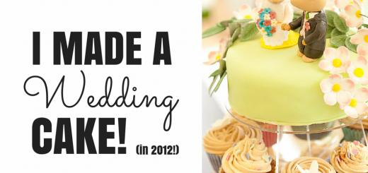 I made a wedding cake-3