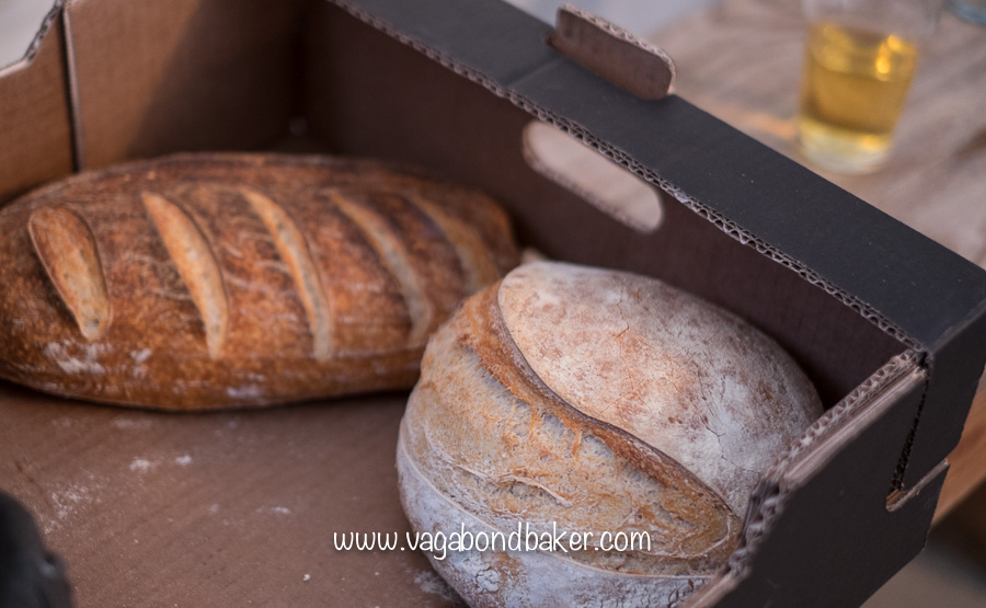 Shipston Food Festival organiser Dan bought his amazing sourdough bread along, delish!