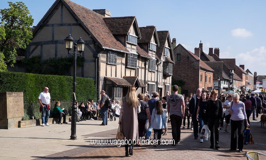 Shakespeare's birthplace, Henley Street
