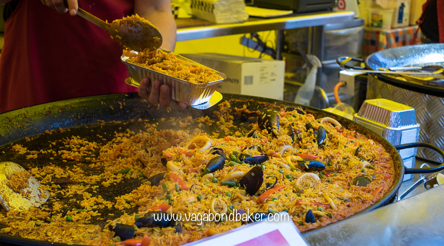 There was a lot of Paella!