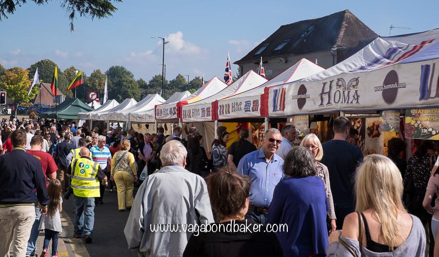 Food stalls on Bridge Street