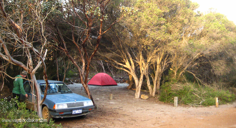 Camped at Fitzgerald NP