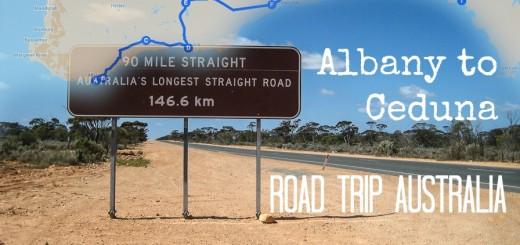Albany to Ceduna Road Trip Australia