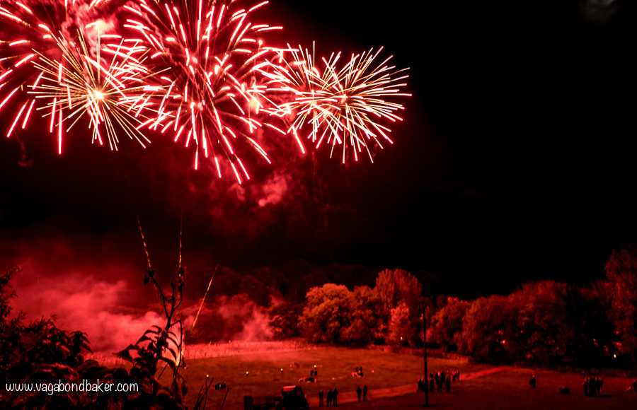 Knight Stainforth Hall Fireworks