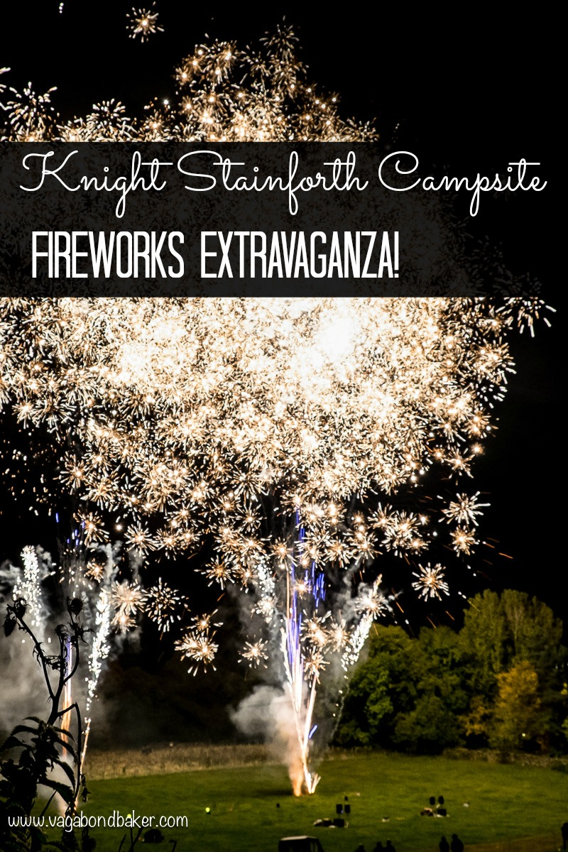 Knight Stainforth Campsite Fireworks 2015
