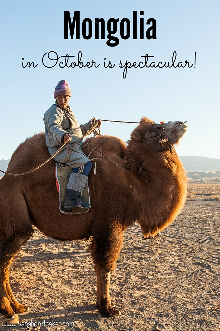 Mongolia in October is Spectacular