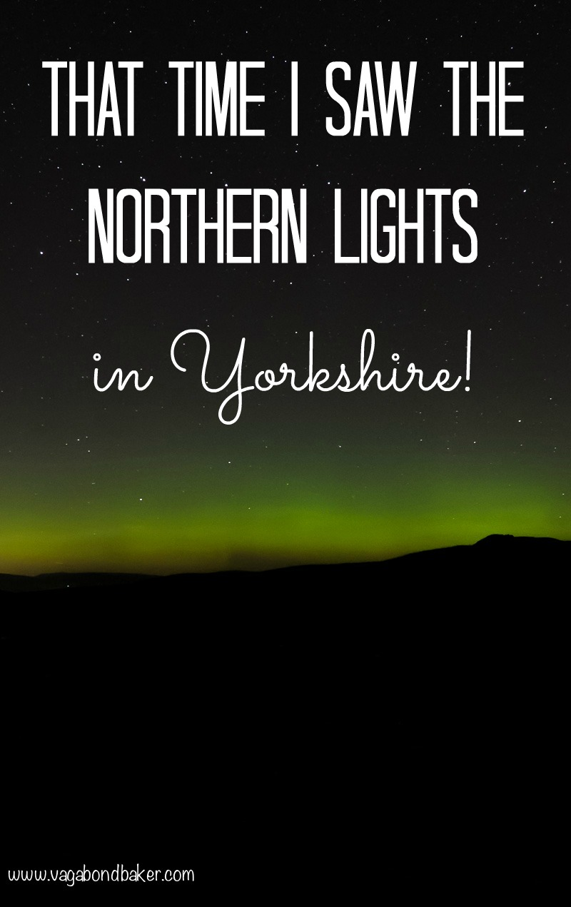 Seeing the Northern Lights in Yorkshire // Aurora Borealis // England