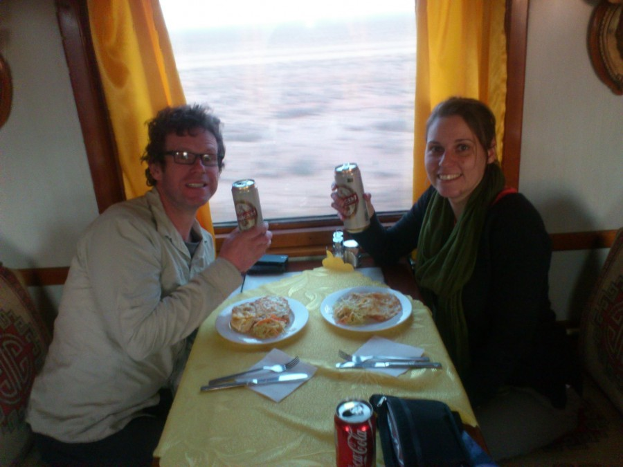 Birthday on the Trans-Mongolian Railway